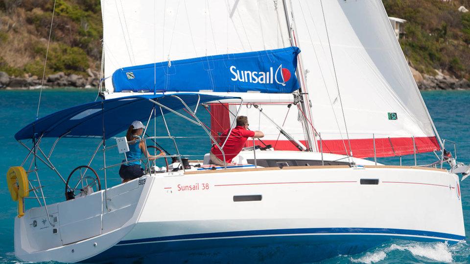 Sunsail 38 - 2 cabin