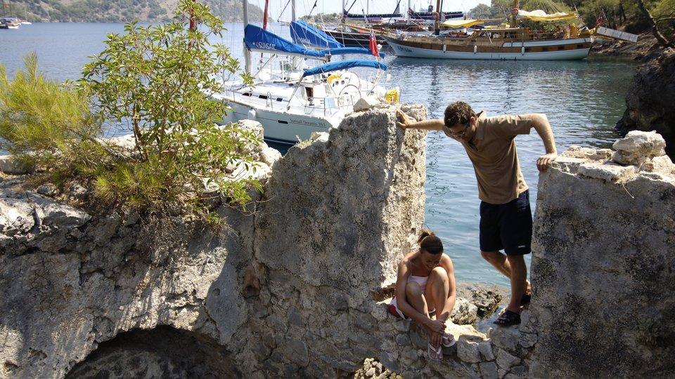 Cultural sailing holidays