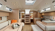 Sunsail 51 interior