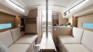 Sunsail Oceanis 30.1 living space