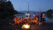 Abelike bay (Meganisi), Greece