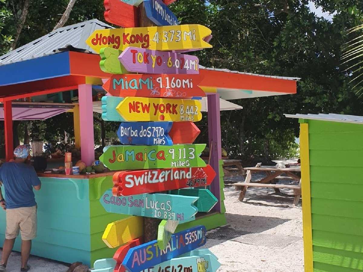 Op La Digue op de Seychellen kun je letterlijk alle kanten op