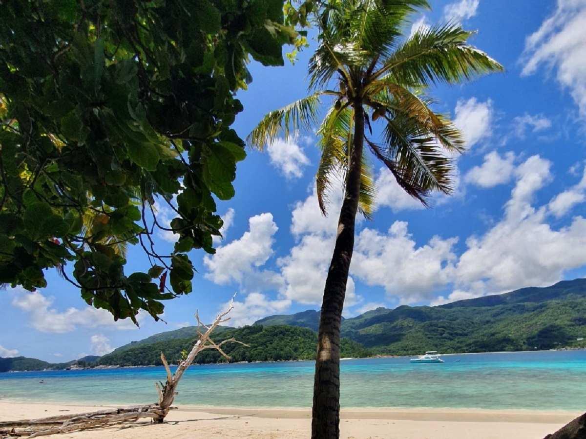 Therese Island op de Seychellen westelijk van Mahé