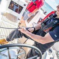 sailor on sunsail premier course
